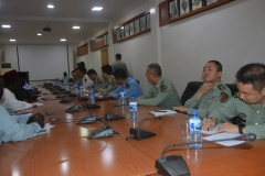 Delegation visit from China Ministry of National Defence
