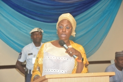 Permanent Secretary addresses participants at the CMR Workshop in Lagos
