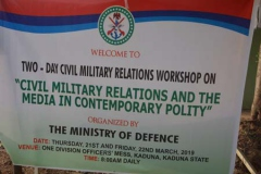 Civil-Military Conference Kaduna