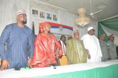 Honourable Minister, Permanent Secretary and other Dignitaries at the CMR workshop in Kaduna