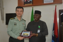 Permanent Secretary represented by Director Press, receives the Delegation from China Ministry of Defence